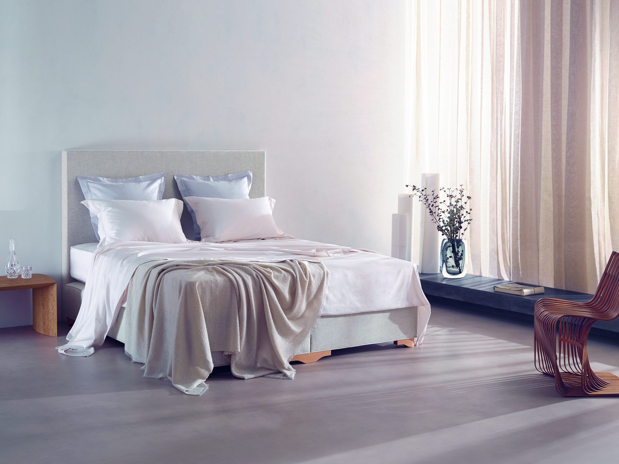 Kom voor Vispring Luxury Beds naar Jacques Clement Sleeping Concepts